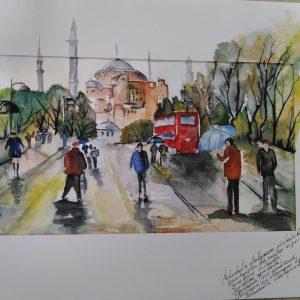 Sulu boya İstanbul